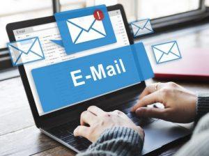 عدم ارسال و دریافت ایمیل