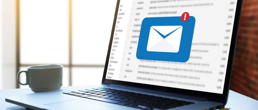 تنظیم ایمیل در outlook