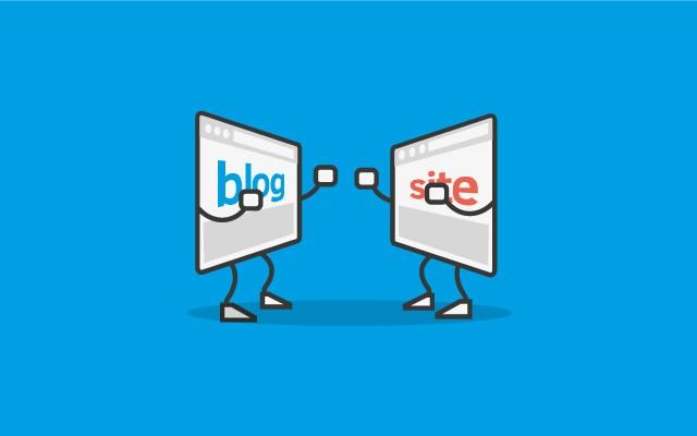 نحوه تبدیل وبلاگ به سایت