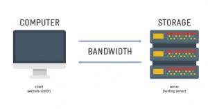 پهنای باند یا ترافیک ماهانه (Bandwidth) هاست چیست؟
