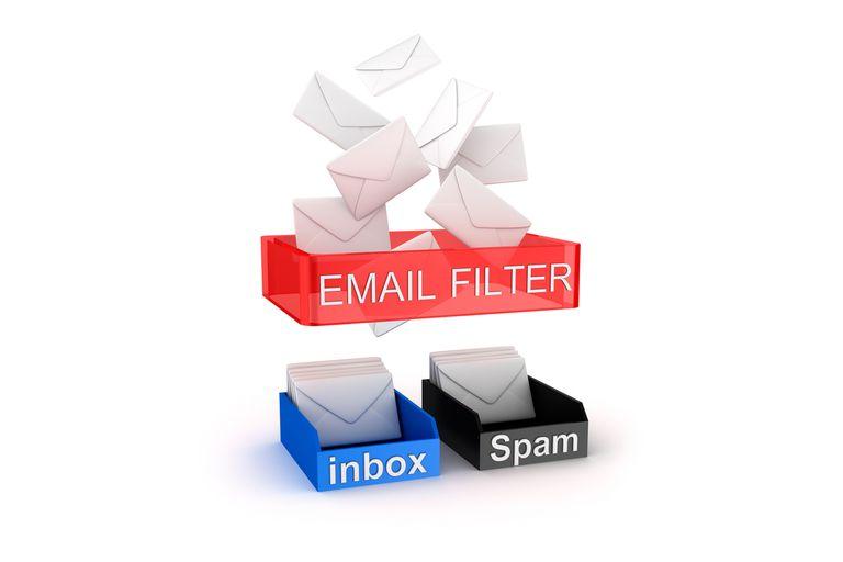 ایجاد فیلتر برای ایمیل ها